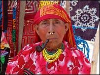 Os Kunas bebem várias xícaras de cacau por dia